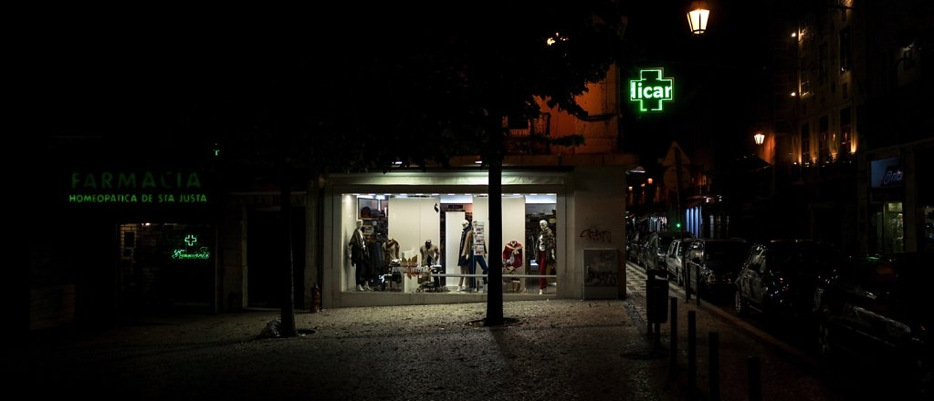 La vitrine, Lisbonne