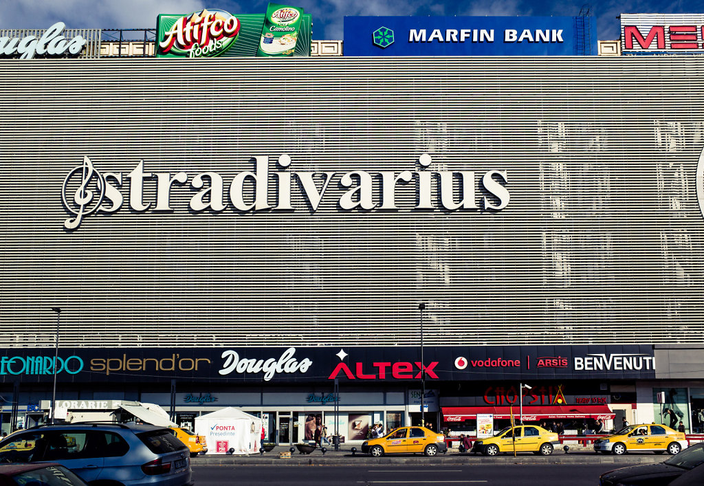 Stradivarius, Unirea Shopping Center, Bucharest