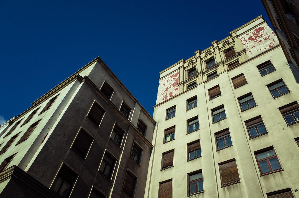Windows and concrete