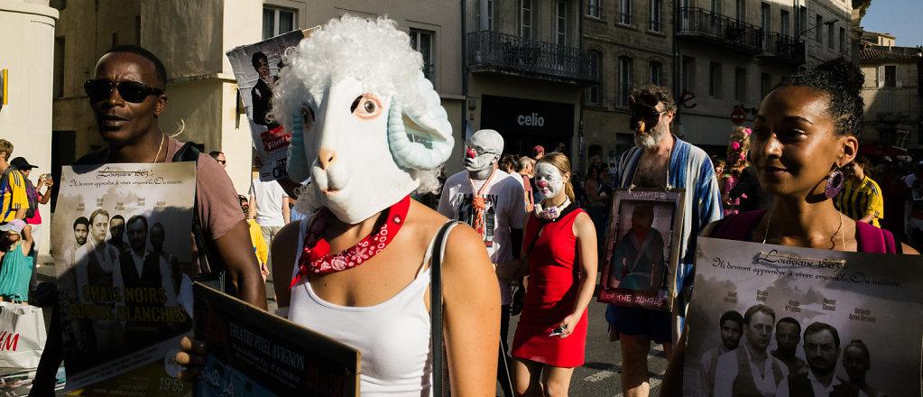 Parade d'ouverture Festival OFF 2017, Avignon