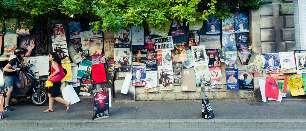 Affiches Festival OFF 2017, Avignon