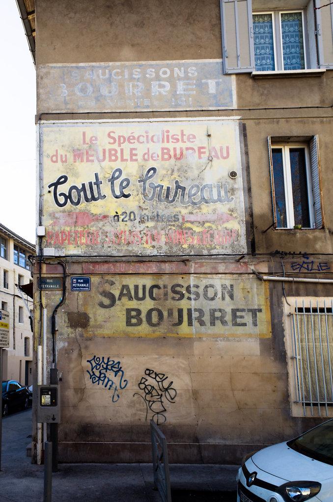 Saucissons Bourret, Avignon