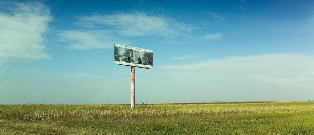 Field advertising