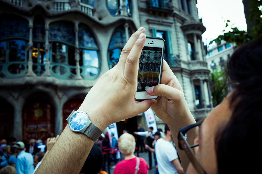 Picture in picture of Casa Batllo, Barcelona