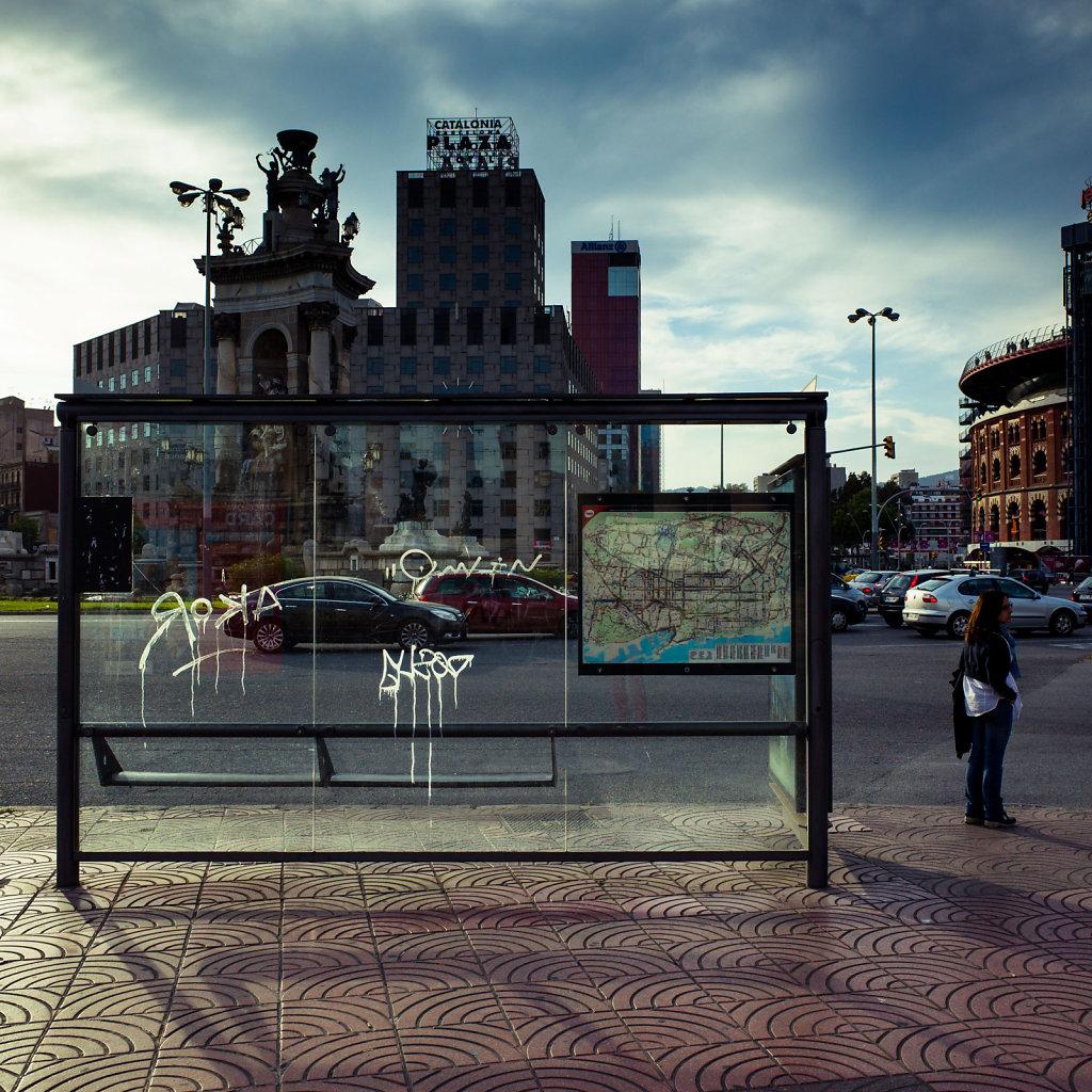 Bus station, Barcelona