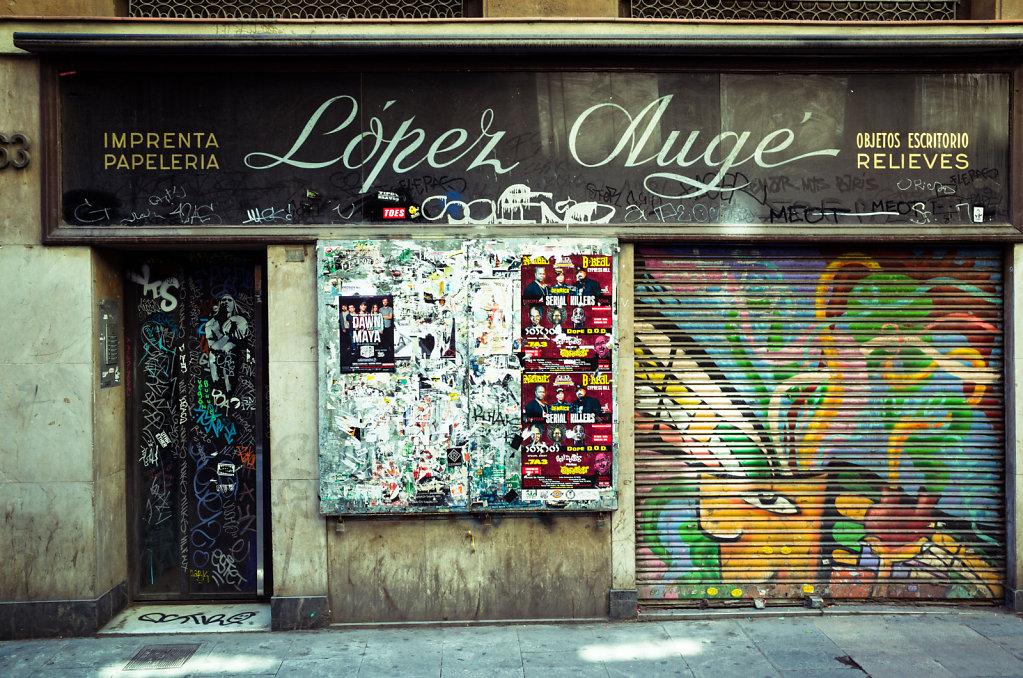 Lopez Auge, Barcelona