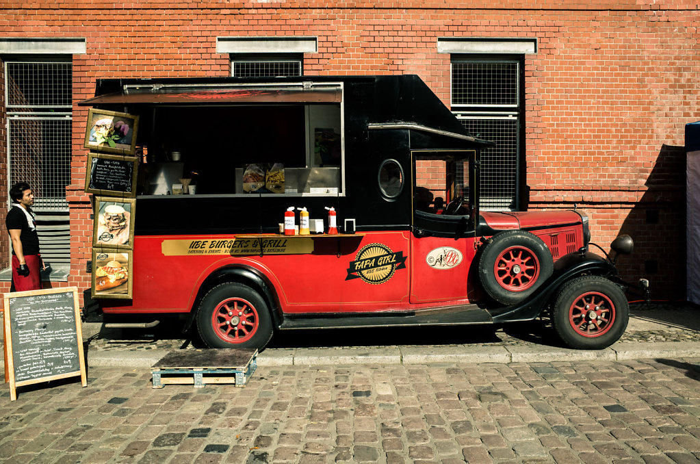 Food truck at the KulturBrauerei