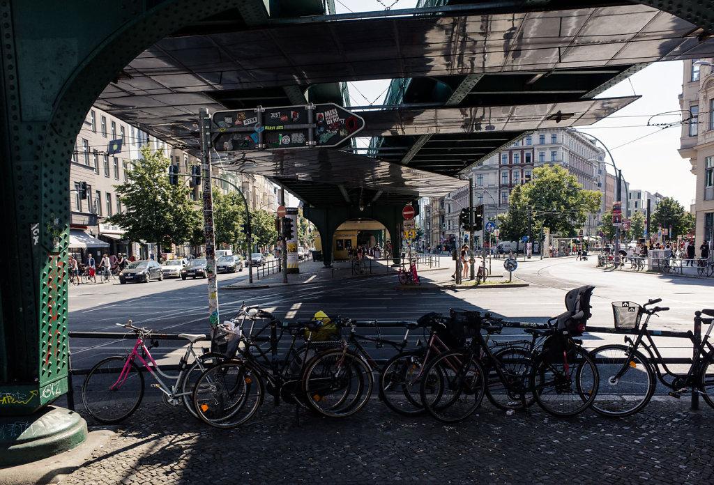 Under the bridge, Berlin