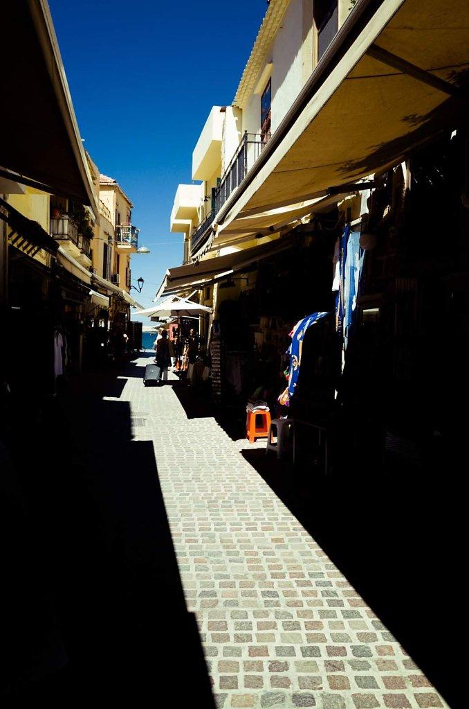 Heading towards the sea, Chania, Crete