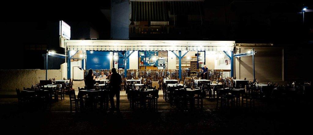 Taverna in Paleochora, Crete
