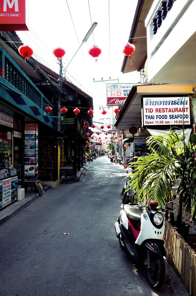 Downtown street, Koh Samui