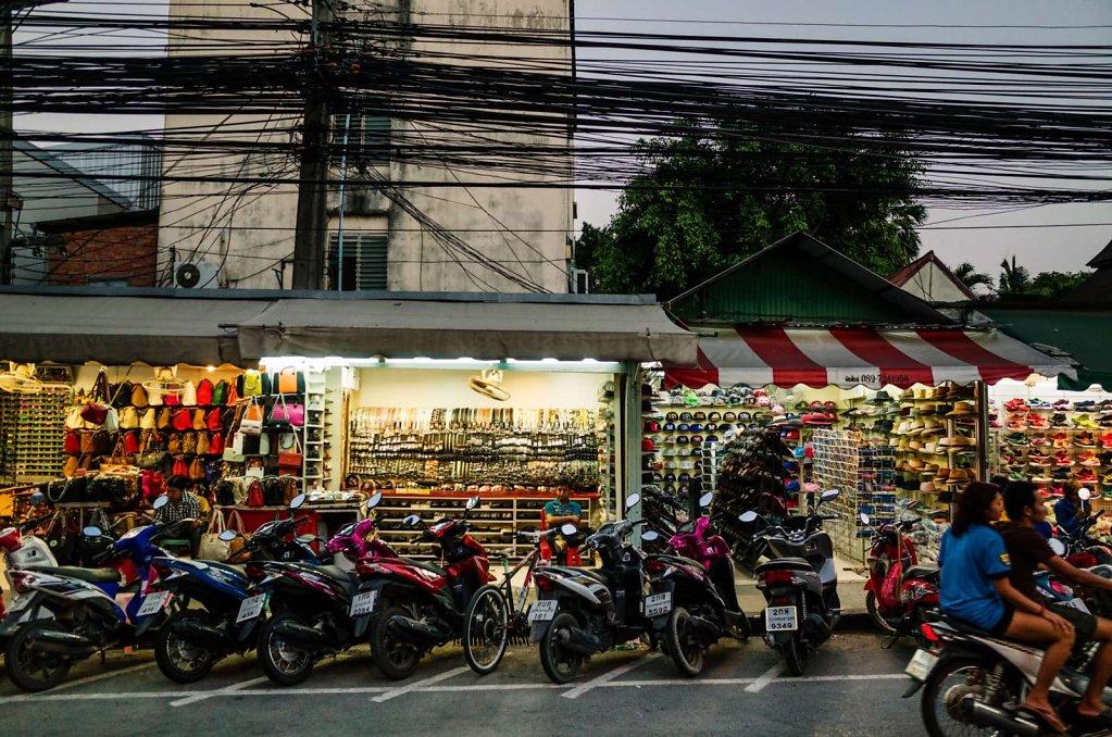 Shopping street, Koh Samui Thailand