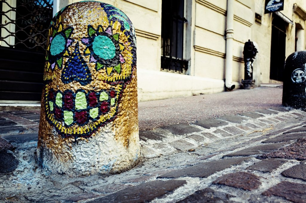 Smiling stone, Montpellier