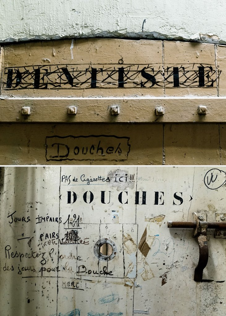 Dentiste / Douches