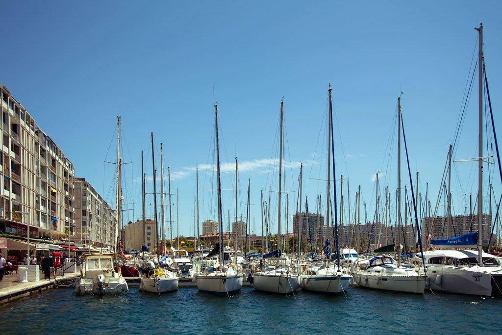 Toulon harbour