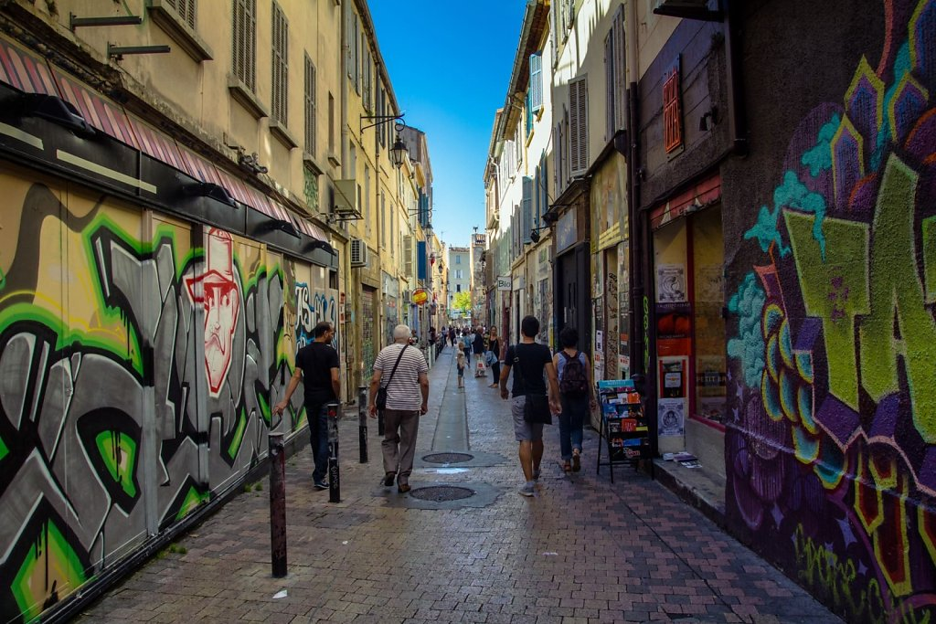 Marseille grafitti