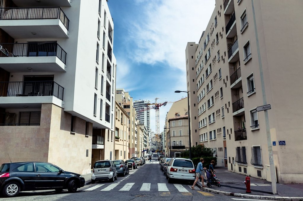 Intersection, Marseille