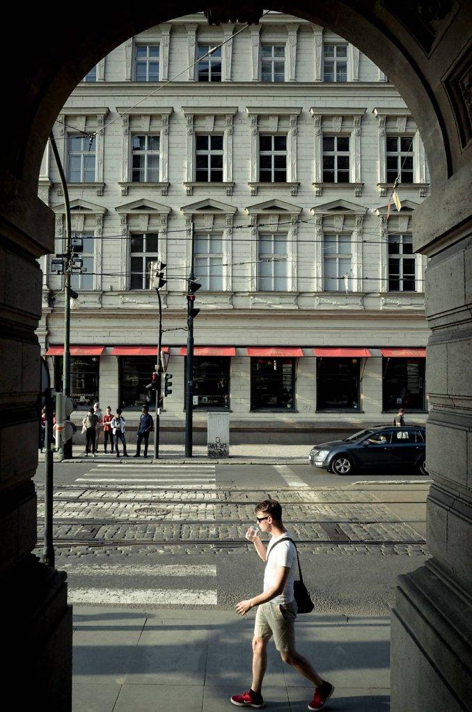 Arcade frame, Prague