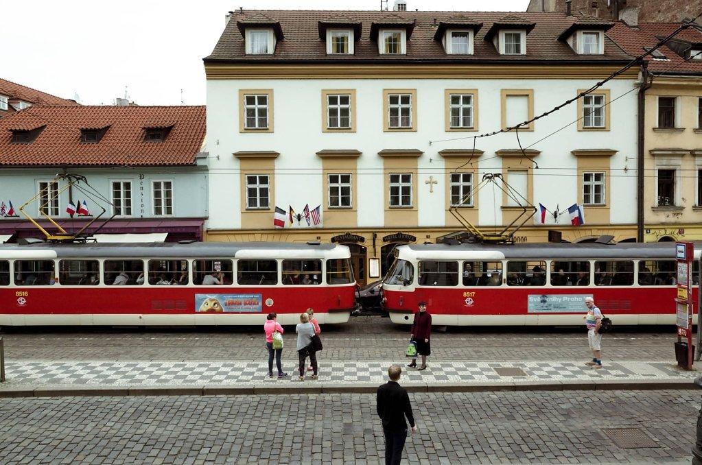 Tram in Prague
