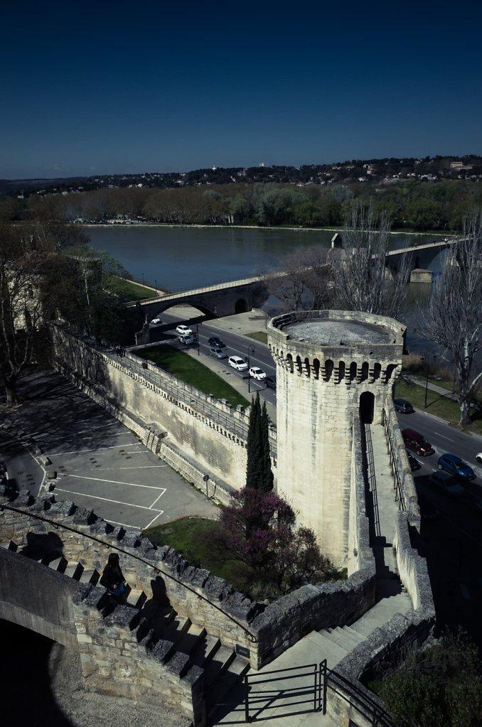 Remparts, Rhone, Avignon