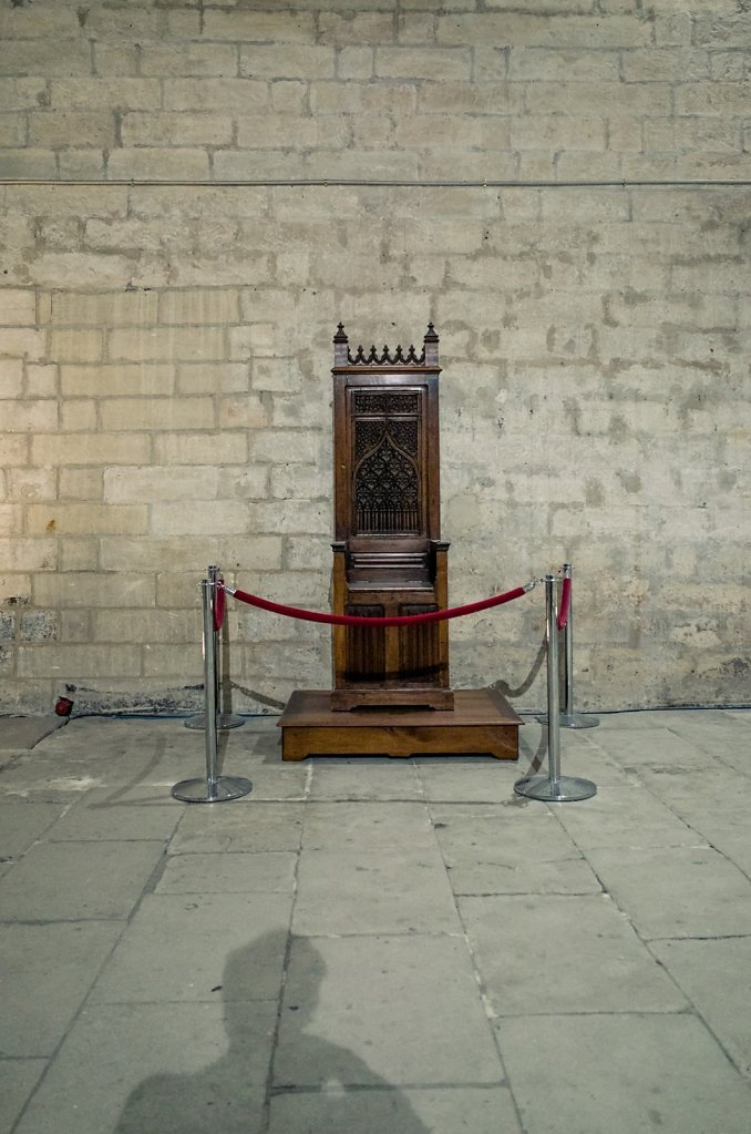 Reserved seating, Palais des Papes, Avignon