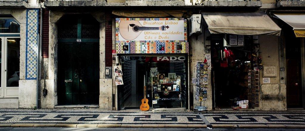 Music store, Lisbon