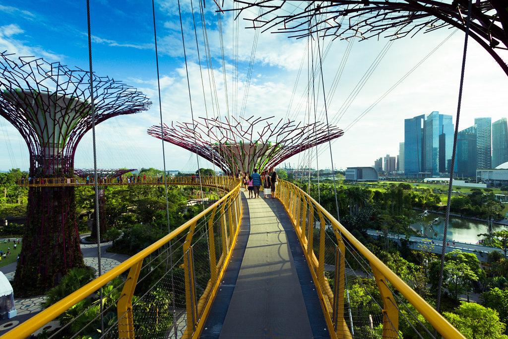 Walkway in the sky, Singapore