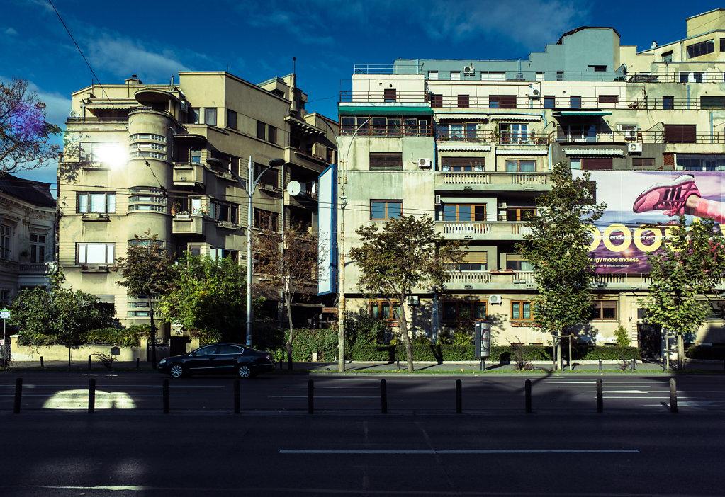 Bucharest buildings