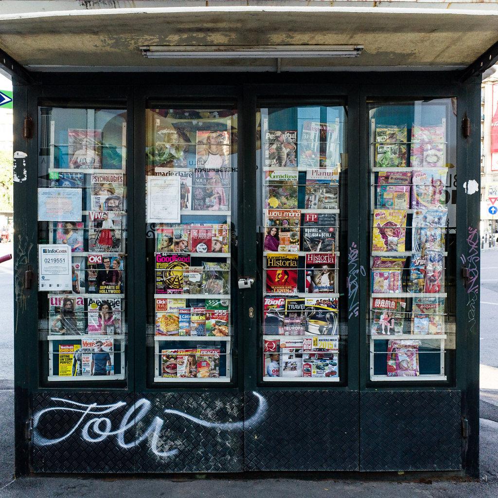 Magazines stand, Bucharest