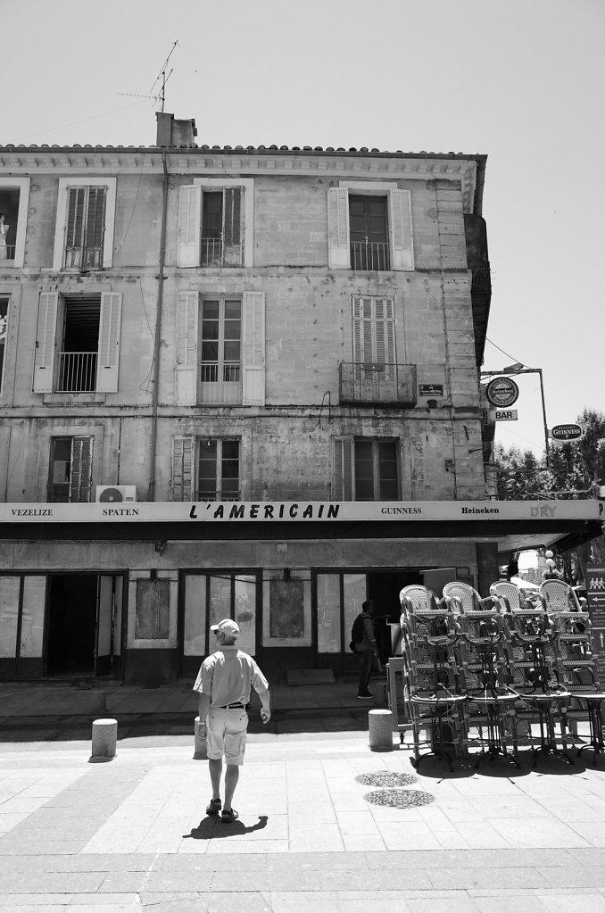 L'Americain, Avignon