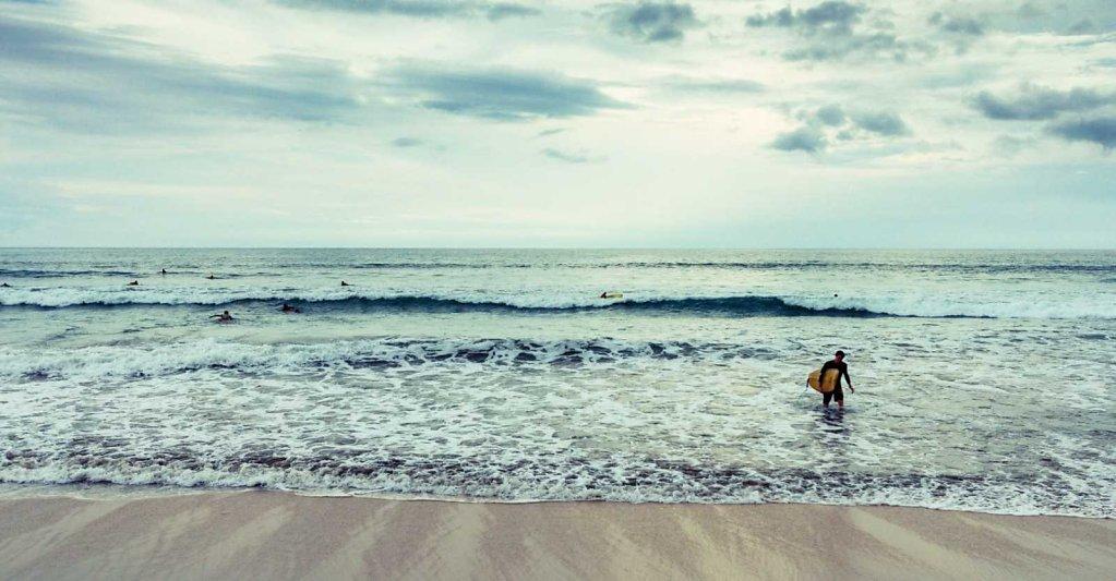 The surfer, Bali