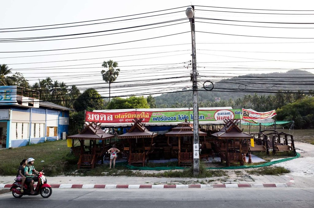 Patio furniture shop, Koh Samui