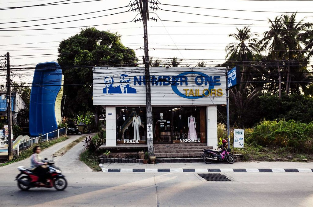 Number one tailors, Koh Samui