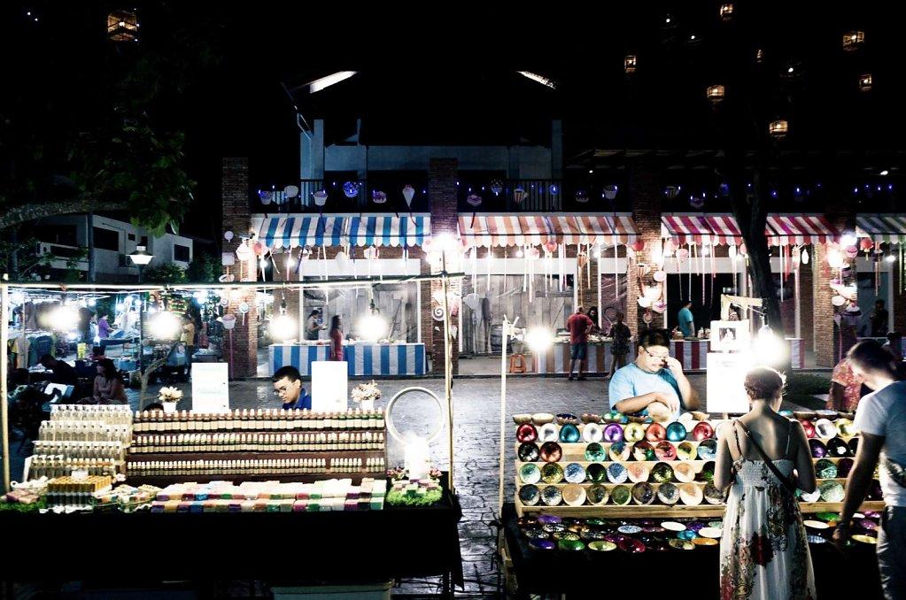 Night market, Koh Samui