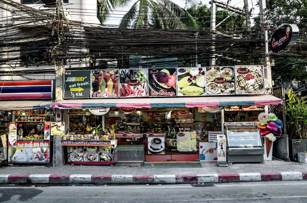 Time to eat, Koh Samui