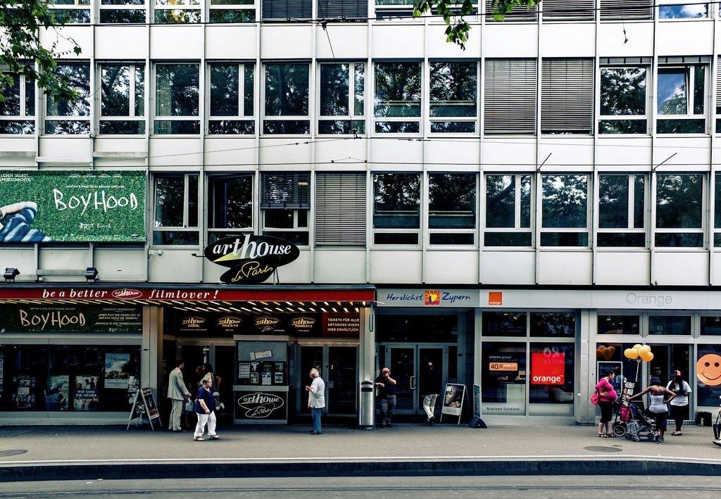 Arthouse cinema, Zurich