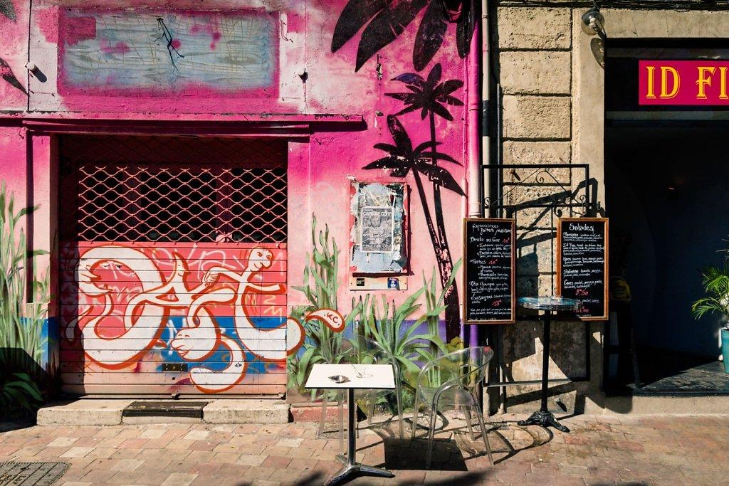 Transparent seat, Marseille