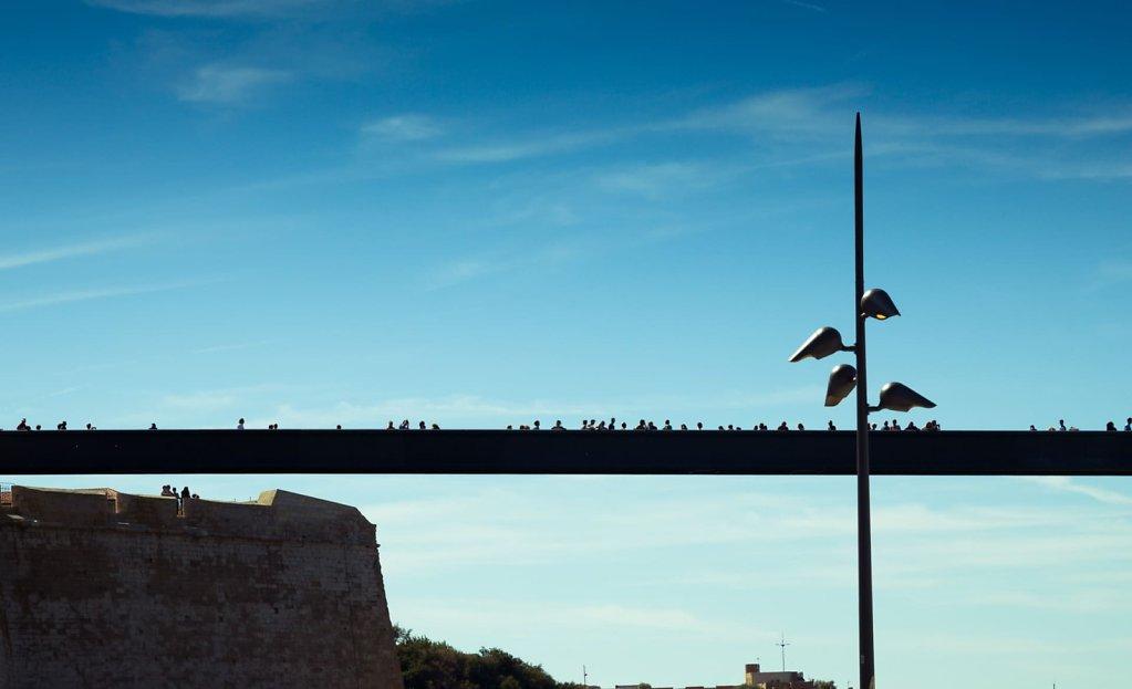 The bridge, Marseille