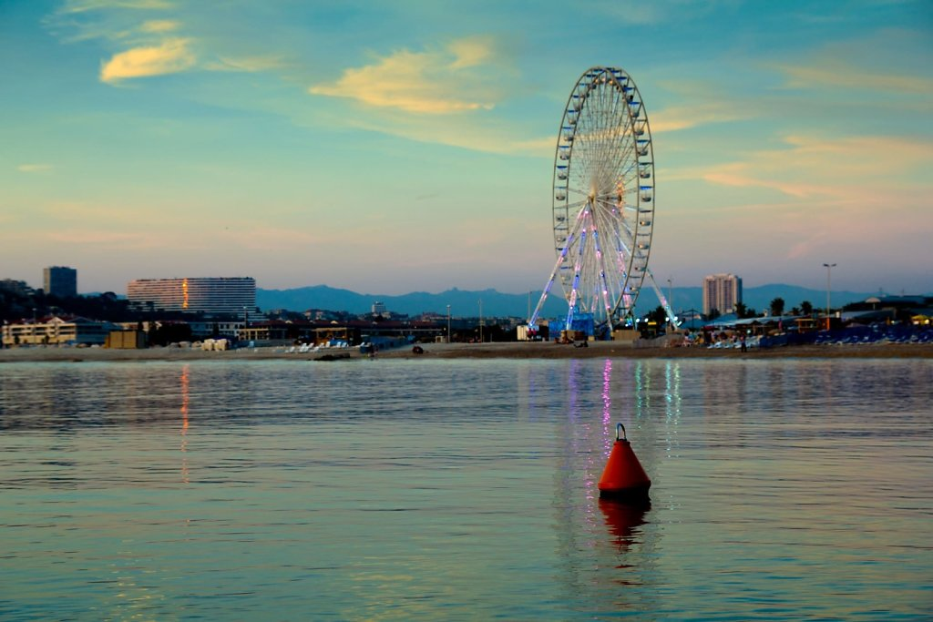 Ferris wheel, Marseille