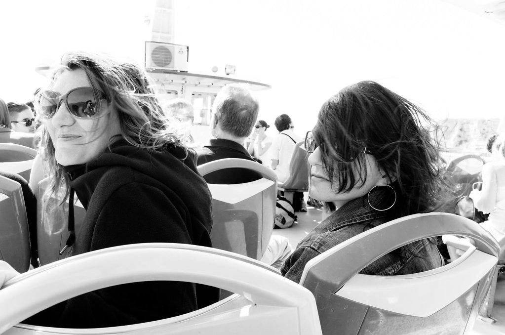 Looking back over the shoulder, Marseille