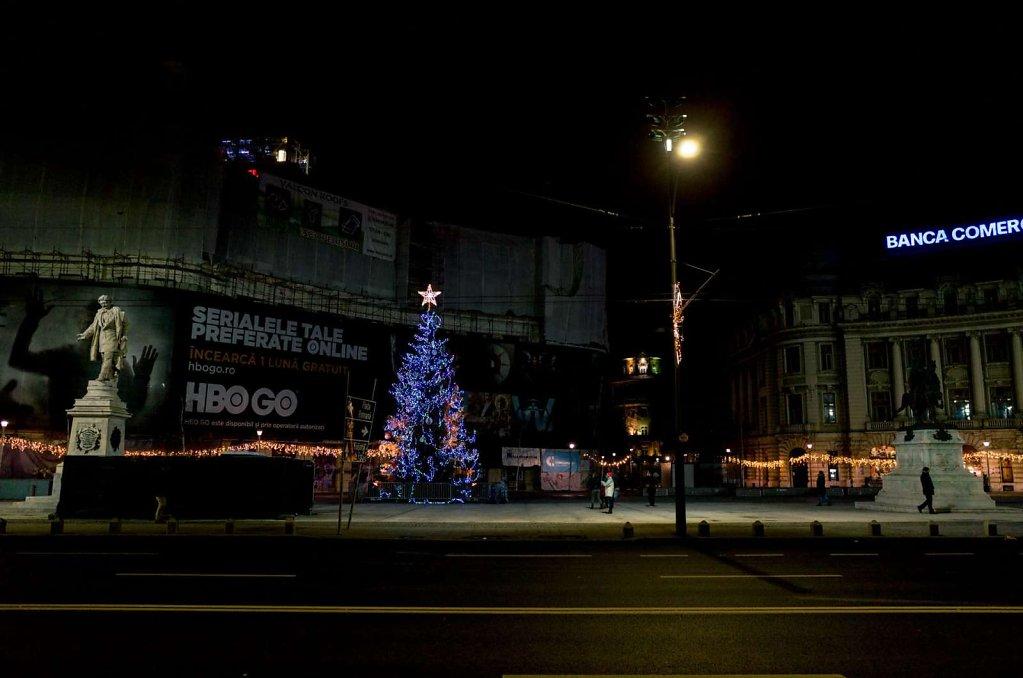 Christmas tree, Bucharest