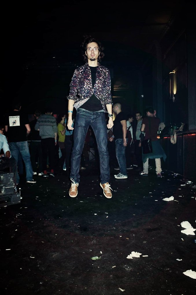 Floating in the club, Bucharest