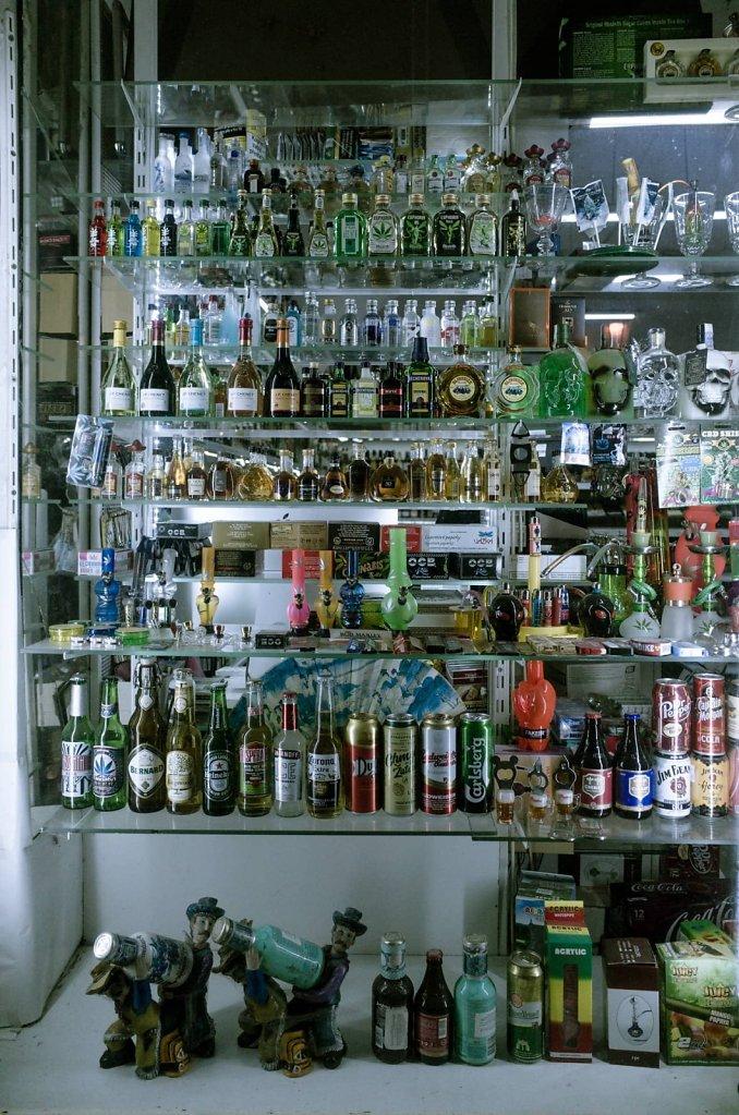 Alcohol paraphernalia