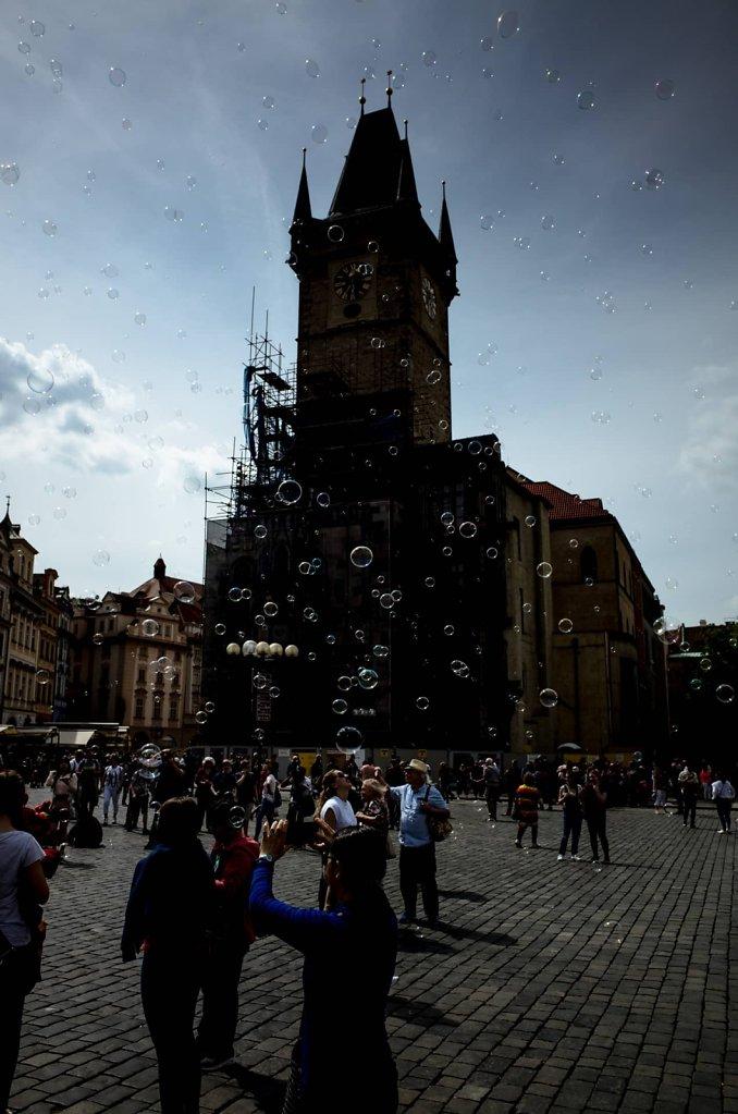 A bubbly atmosphere, Prague