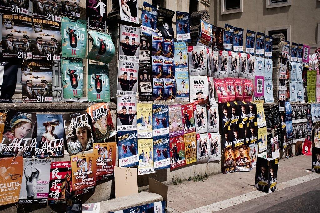 Avignon festival OFF 2019 posters