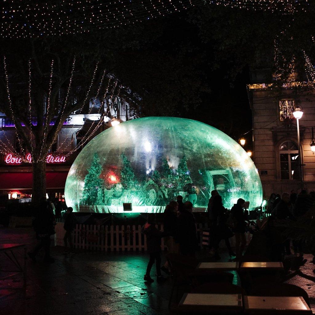 Vivre dans une bulle