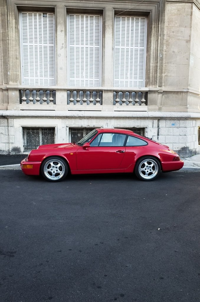 Little red Porsche